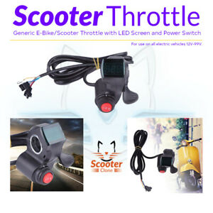 Electric-Scooter-E-Bike-Universal-Throttle-with-Power-Switch-and-LED-Display-12