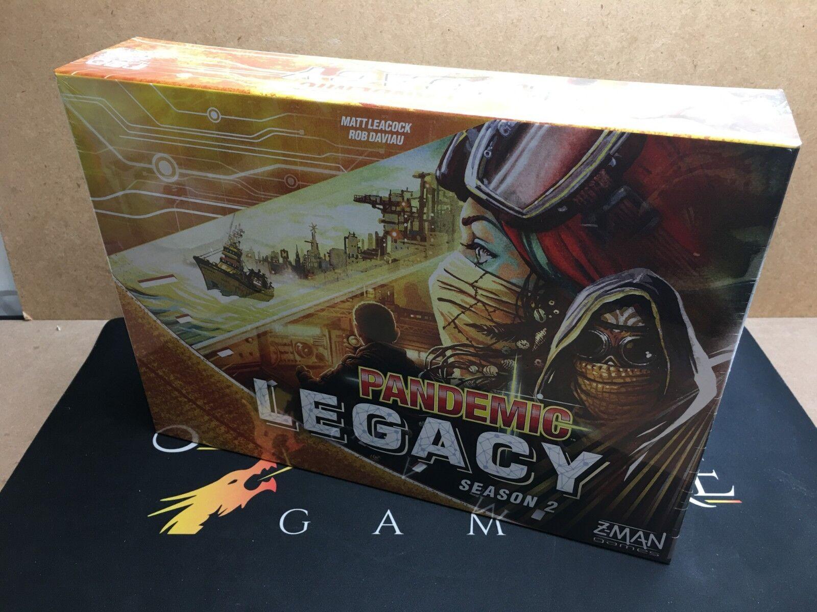 Pandemia  Legacy Stagione 2-Z-Man Games (SIGILLATO ORIGINALE)