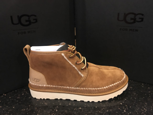 2944c212763 Men's Ugg Australia NEUMEL STITCH BOOT 1094398 CHESTNUT | eBay
