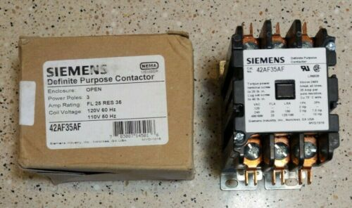 *NEW IN BOX* SIEMENS 42AF35A Definite Purpose Contactor *FREE PRIORITY SHIPPING*