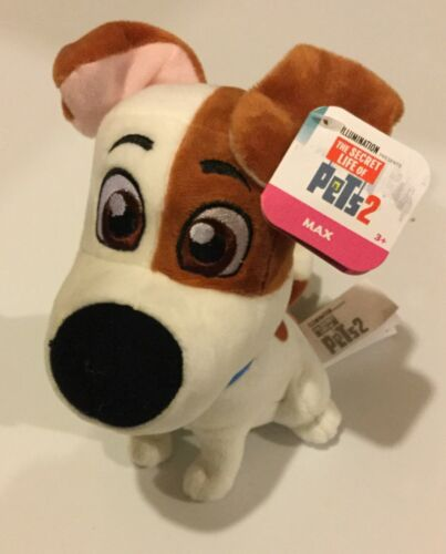 The Secret Life Of Pets 2 Max Gidget Hu or Captain Snowball Plush Toy NWT