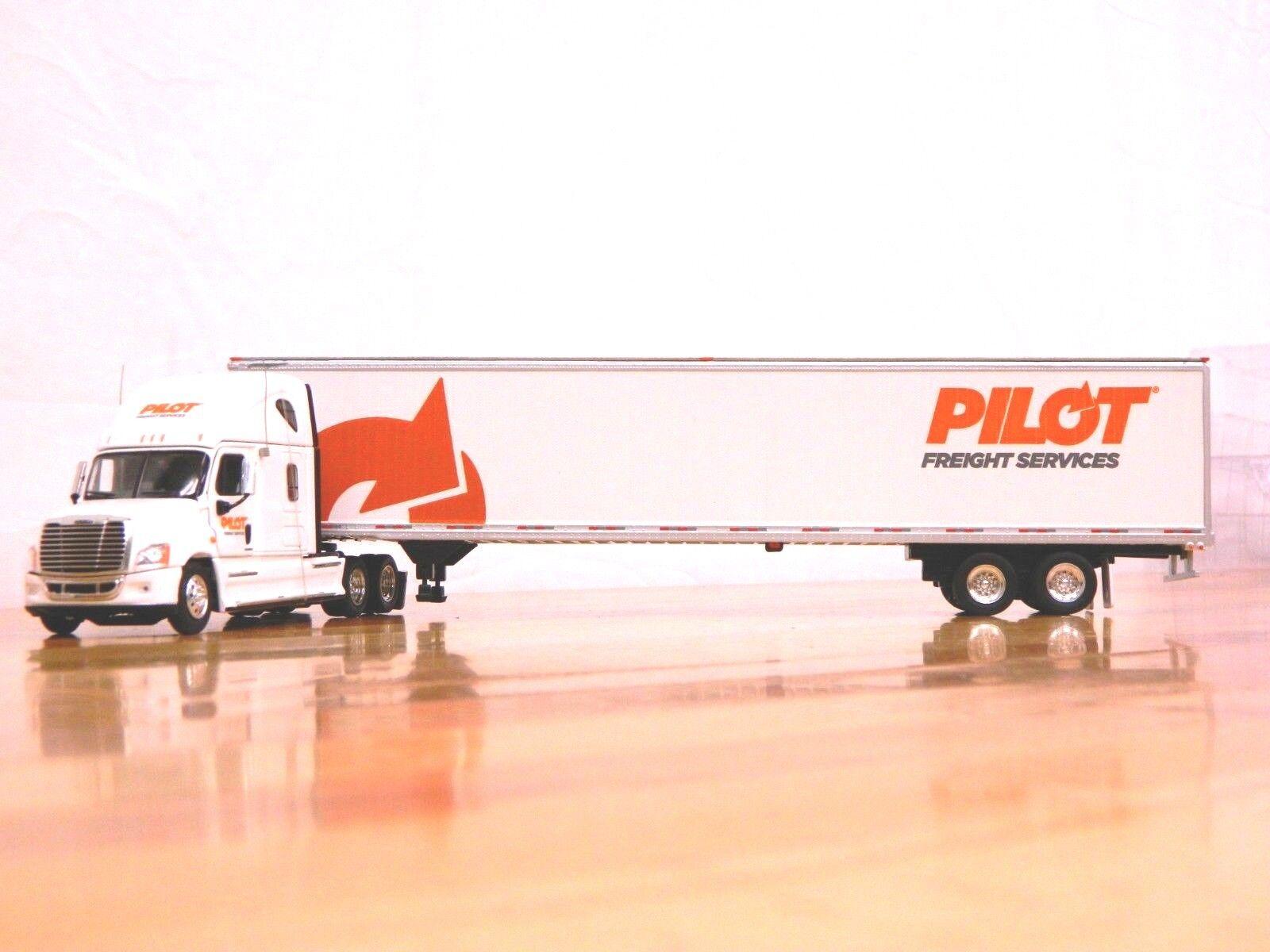 Tonkin Replicas  Pilot Freight  Freightliner Casia w 53' Van Trailer 1 53