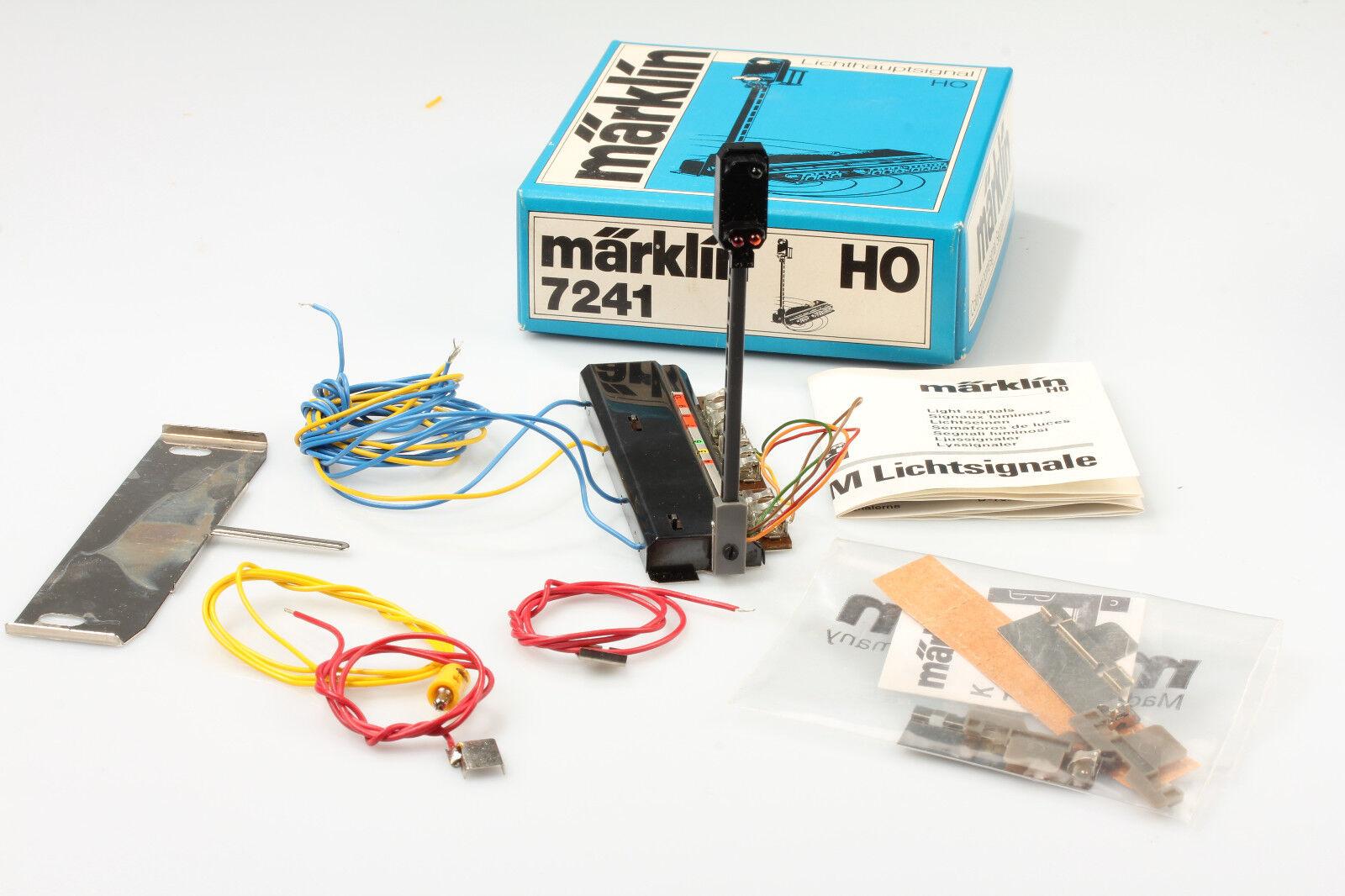 H0   7241 Semaforo Principale Test Ok  Schrankfund Min. Sporco/Graffi