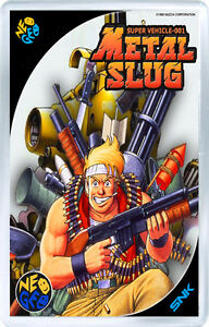 METAL SLUG NEO GEO FRIDGE MAGNET IMAN NEVERA ugWFJxIo-09155648-104056238