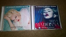MADONNA BEDTIME STORIES + MDNA - ALTERNATE 2x DOUBLE ALBUMS - CDs