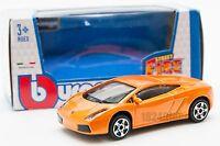 Lamborghini Gallardo Orange, Bburago 18-30101, scale 1:43, toy car model gift
