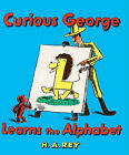 Curious George Learns the Alphabet by H. A Rey (Book)