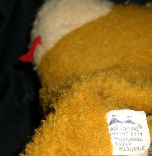 27.9cm Vintage 1974 Clara Fille Animal Fair Marionnette À Main Peluche Jouet