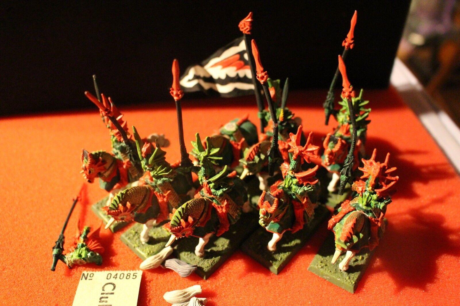 Juegos taller Warhammer Fantasy elfos alto elfo Príncipes Dragón de Caledor x8 fuera de imprenta