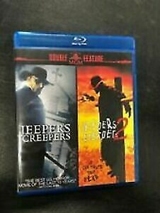 Jeepers Creepers 1 /Jeepers Creepers 2 - Blu Ray - Region free   - sealed