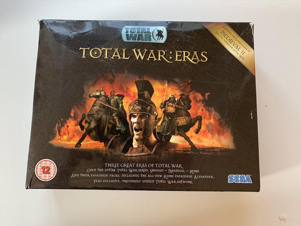 Total War Eras boks-sæt, strategi
