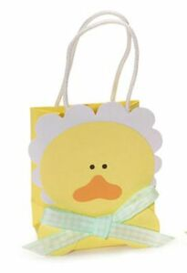 12-Yellow-Baby-Chick-Favor-Bags-for-Baby-Shower-Favors-Set-of-12