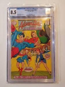 Adventure-Comics-368-CGC-8-5-DC-1968-Ultra-Boy-amp-Superboy-034-Ladies-First-034