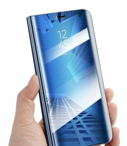 funda azul Samsung Galaxy a51 transparente funda bolsa cáscara clear View D