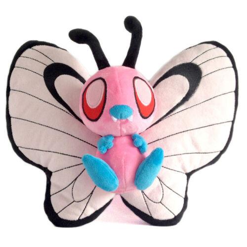 Pokemon Pink Shiny Butterfree Plush Doll Anime Figure Stuffed Toy 12 inch X'mas
