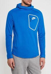 15 465 Men Nike Blue Hoodie New Advance 885935 Hoodie Sportswear White awqEx6qF