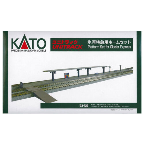 New Kato 23-129 Glacier Express Platform Set