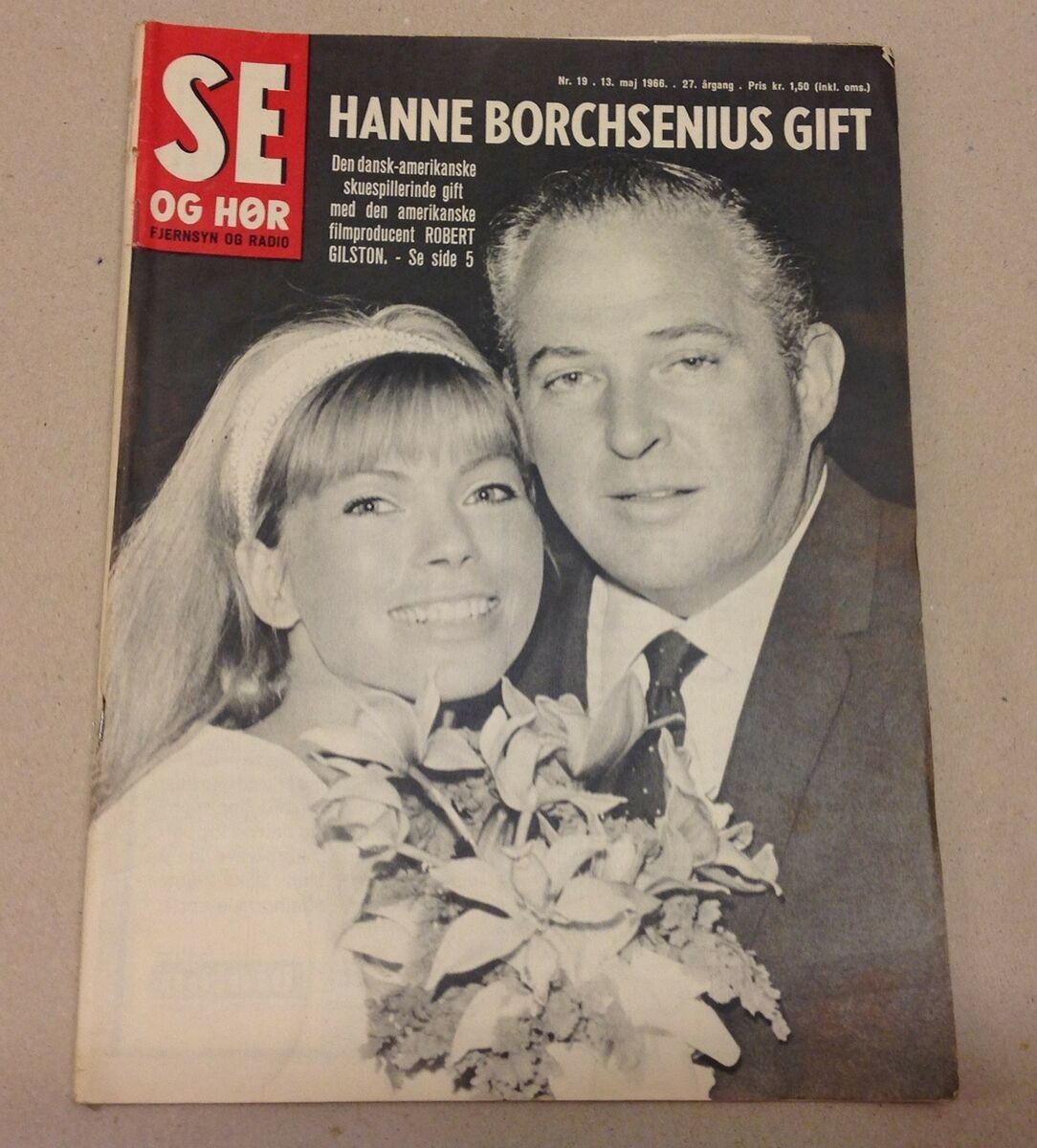 SE OG HØR 1966 13 MAJ NUMMER 19, Blad – dba.dk – Køb og Salg af Nyt og Brugt