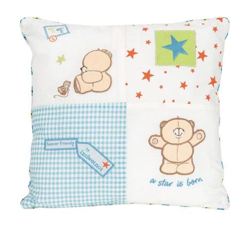 Little Star Blue Forever Friends square Cushion