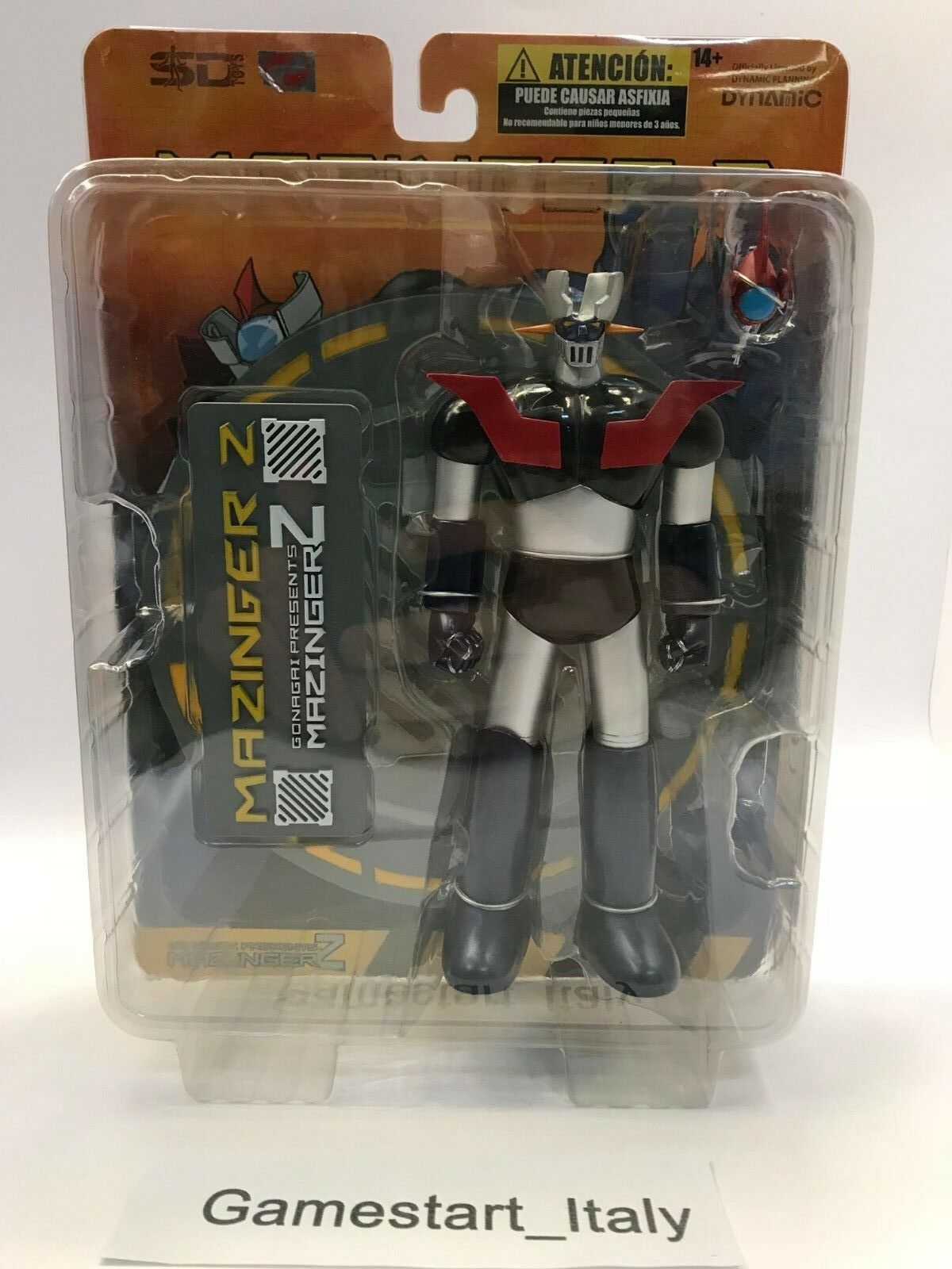 MAZINGER Z MAZINGA ROBOT ACTION FIGURE - NEW 18 CM OFFICIAL DYNAMIC SD TOYS