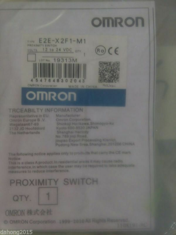 NEW OMRON E2E-X2E1-M1  LRR