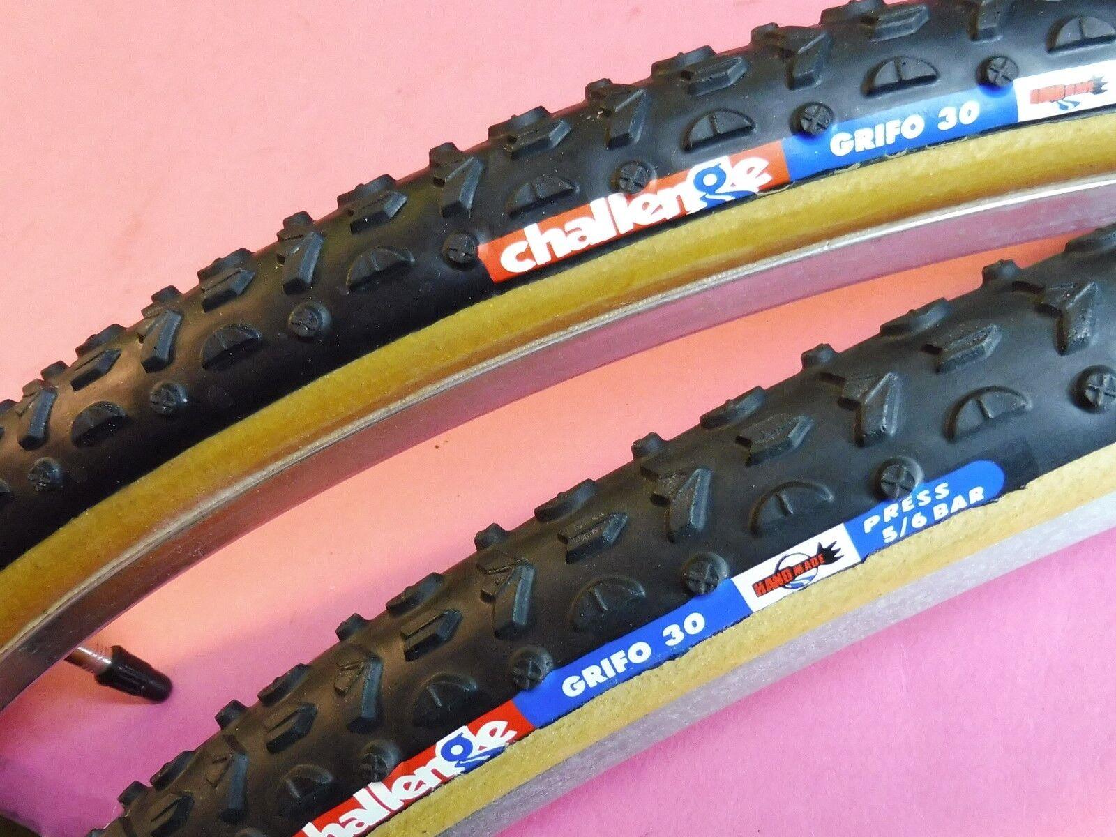 Two - Challenge Grifo 30 tubular tyres - NOS