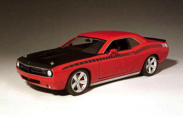 Dodge Cuda Concept Rallye Red W/ Black AAR Stripe 1/18 by Highway 61 50827
