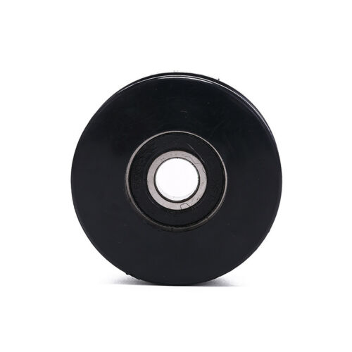 50mm Black Bearing Pulley Wheel Cable Gym Equipment Part Wearproof gym new