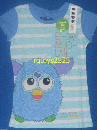 Furby Girls Top 4-5 XS 6-6X S 14 16 XL Tee t-shirt new Hasbro EE-DAY NOO-LAH