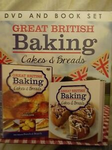 BNIB-DVD-amp-BOOK-SET-034-GREAT-BRITISH-BAKING-BREADS-amp-CAKES-034-GREAT-GIFT-FOR-ANY-COOK