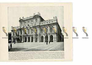Piazza-Carlo-Alberto-Turin-Italy-Book-Illustration-Print-1899