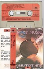 ROXY MUSIC cassette K7 tape GREATEST HITS france french 3100 407 paper label