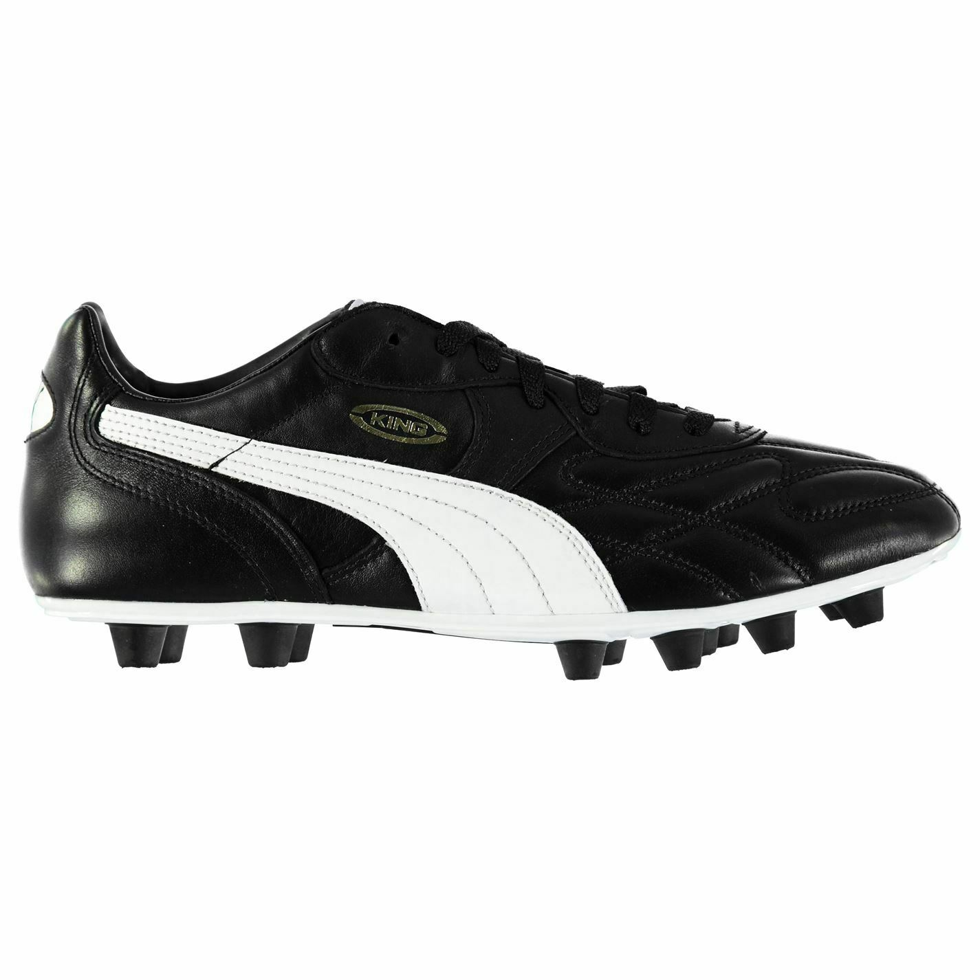 Puma King Top di FG Football Boots Mens Gents Firm Ground Laces Fastened Studs