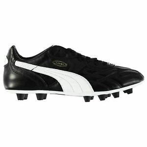 Puma-King-Top-di-FG-Chaussures-de-football-Homme-Gents-Terre-Ferme-Lacets-A-Rivets