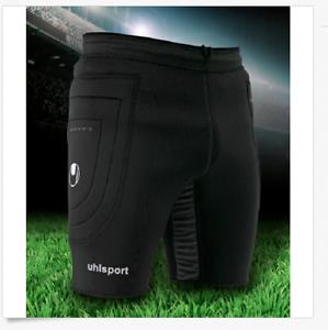 29d2761d1 Uhlsport PRECISION THERMO SLIDER Abrasion Abrasion Abrasion Resistant Soccer  Goalie Shorts XL e98866