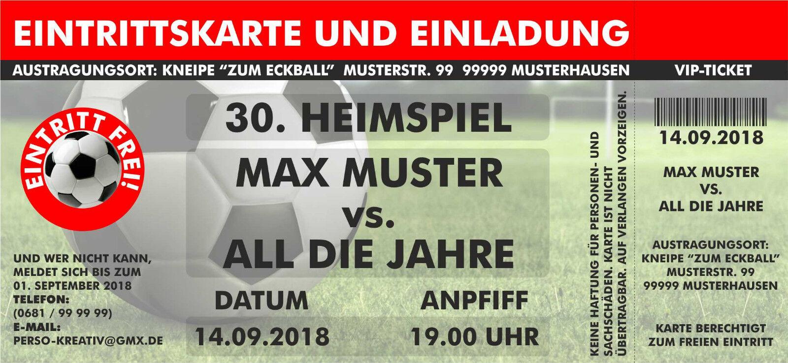 Einladungskarten Fußball Lieblingsverein Geburtstag   Deutschland Online Shop    Shop Düsseldorf