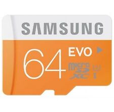 Samsung EVO 64GB Micro SD SDHC SDXC 48MB/s UHS-I Class10 Memory Card