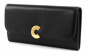 Coccinelle Wallet Flap With Smooth Noir Craquante rxCqwAE1r