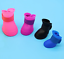 thumbnail 10 - 4Pcs-Protective-Waterproof-Dog-Cat-Rain-Boots-Silicone-Pet-Shoes-Adjustable-Paw