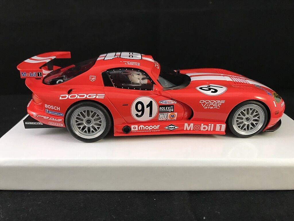 RS0021 REVO SLOT DODGE VIPER rouge  91   1 32