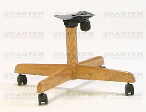 chromcraft compatible replacement chair base for tilt caster chairs