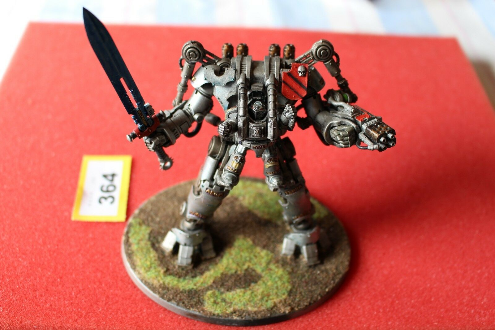 Games Workshop Warhammer 40k Grey Knights Nemesis Dreadknight Well Painted A1