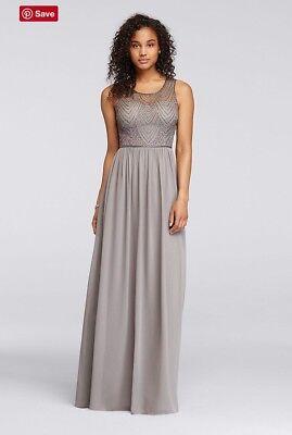 NWT Plus Size David's Bridal Bridesmaid Dress 431010667301 | eBay