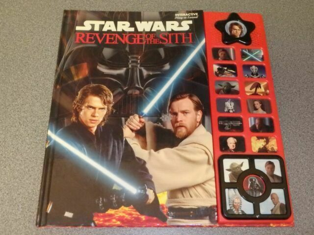 Publication International Star Wars Revenge Of The Sith Interactive Book For Sale Online Ebay
