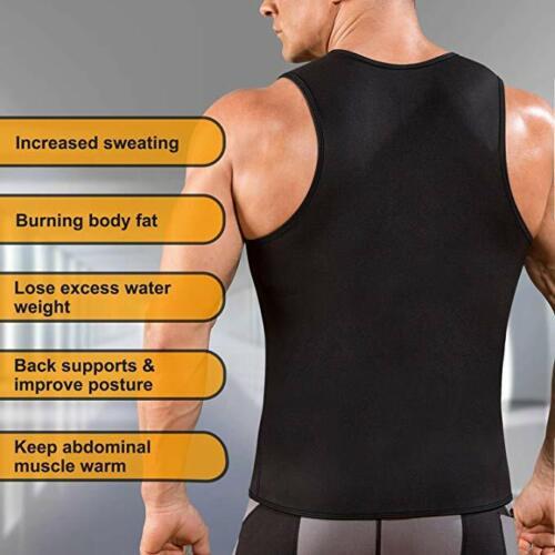 Men's Weight Neoprene Sauna Top
