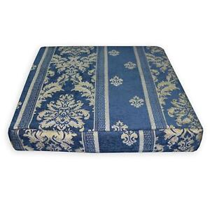 We204t-Blue-Damask-Stripe-Chenille-3D-Box-Shape-Sofa-Seat-Cushion-Cover-Size