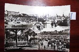 FidèLe Carte Postale Vue Carte Saxe Rapallo Ahlbeck-afficher Le Titre D'origine