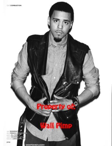 J COLE Poster Hollywood Celebrities Stars Idol Prints Movie AA