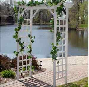 Image Is Loading Garden Arch Pergola Yard Patio Wedding Archway Arbor