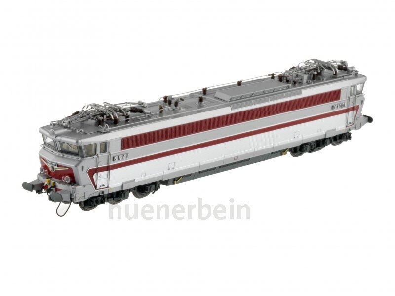 LS Models 10529 SNCF CC 40100 6 ach E-Lok Argento  Inox /rosso ep3b AC Dig Nuovo + OVP